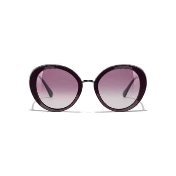 CHANEL CH5398 1461K5 Burgundy Polarized