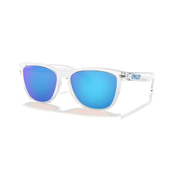 OAKLEY 9013DO FROGSKINS Crystal Clear Prizm Sapphire_4