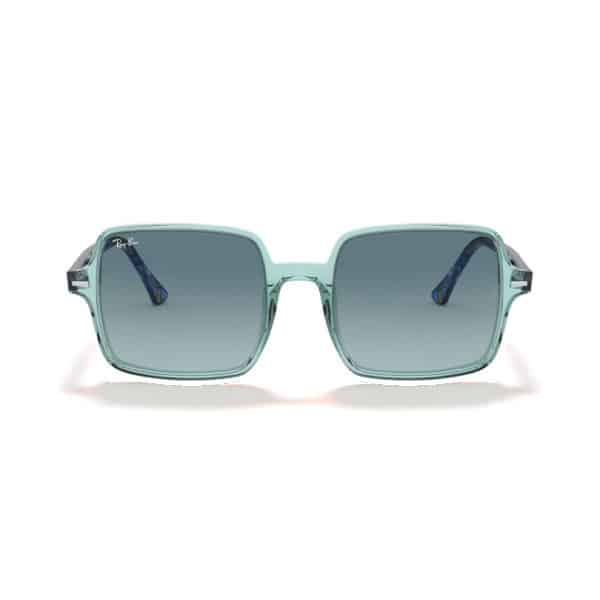 RAYBAN RB1973 12853M Square II Transparent Green_1