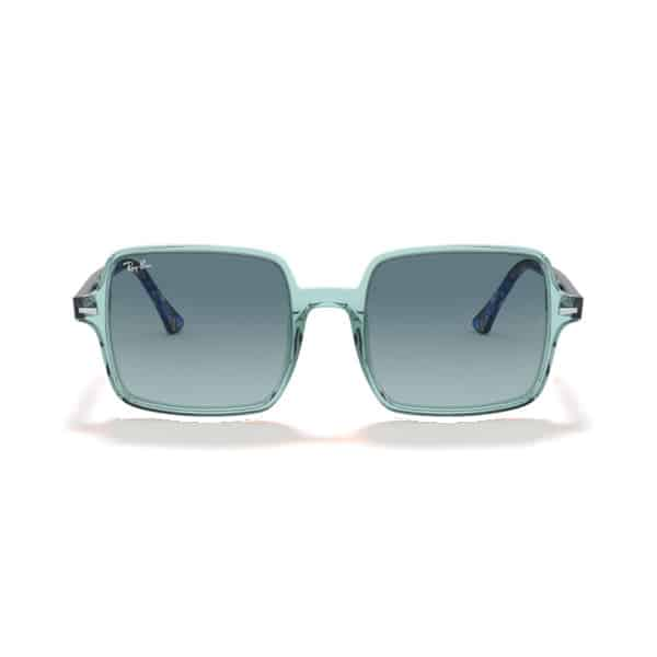 RAYBAN RB1973 12853M Square II Transparent Green