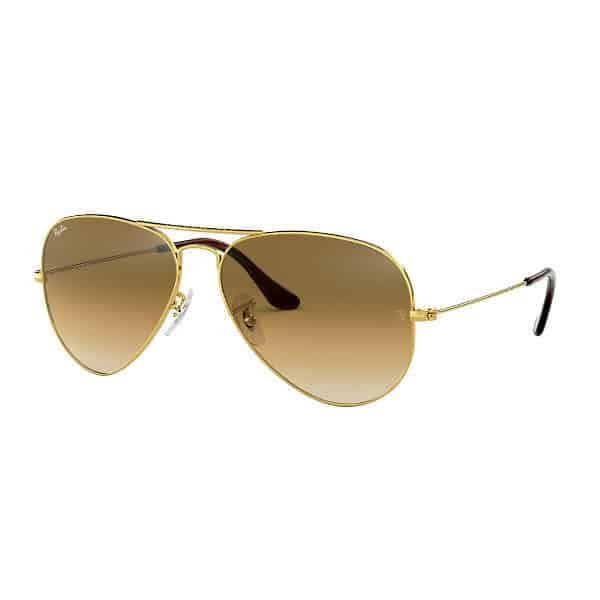 RayBan RB3025 00151 Aviator Gradient Brown Gold_1