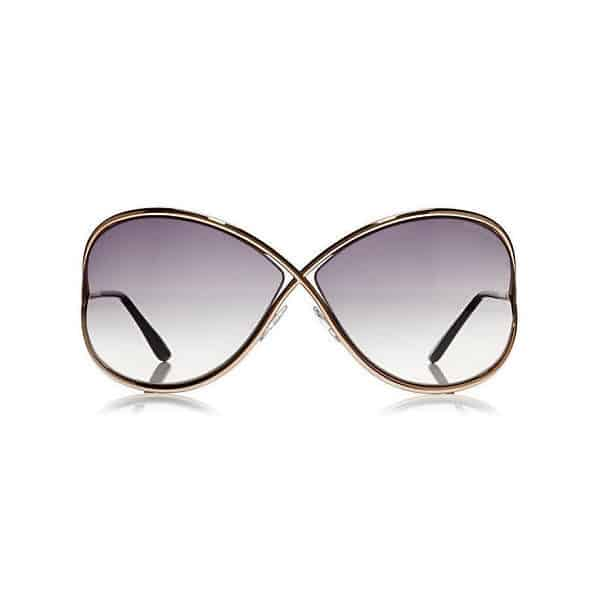 TOM FORD TF0130 28B Miranda Gold